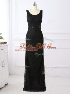 Graceful Lace Long Sleeves Floor Length Mother Of The Bride Dress and Lace
