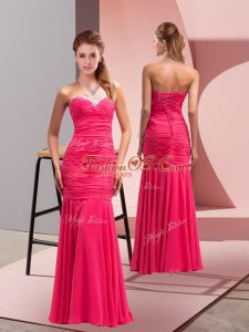 Luxurious Sleeveless Lace Up Floor Length Sequins Prom Dresses