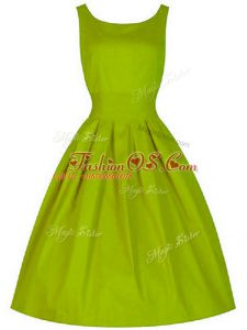 Admirable Sleeveless Lace Up Knee Length Ruching Quinceanera Court Dresses