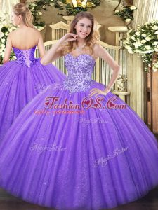 Cheap Lavender Sweet 16 Dresses Sweet 16 and Quinceanera with Appliques Sweetheart Sleeveless Lace Up