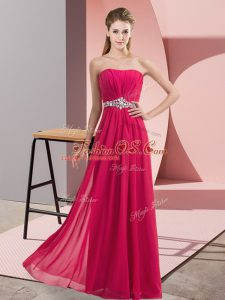 Modern Tulle Sleeveless Floor Length Juniors Party Dress and Lace