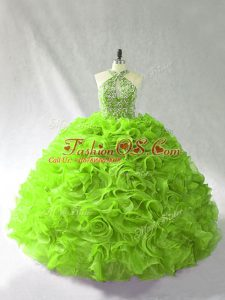 Hot Selling Floor Length Ball Gowns Sleeveless Sweet 16 Dresses Lace Up