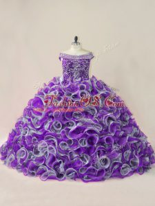 Ball Gowns Sleeveless Multi-color Quinceanera Dresses Lace Up
