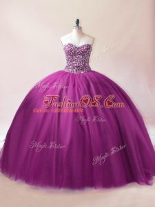 Dynamic Floor Length Ball Gowns Sleeveless Purple Sweet 16 Quinceanera Dress Lace Up