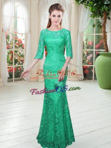 Suitable Half Sleeves Lace Zipper