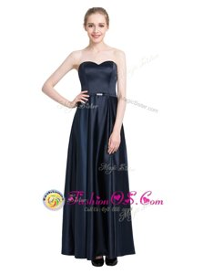 Floor Length Column/Sheath Sleeveless Black Prom Evening Gown Zipper