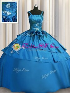 Sleeveless Beading and Embroidery Lace Up Vestidos de Quinceanera