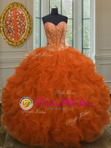 Gorgeous Strapless Sleeveless 15 Quinceanera Dress Floor Length Beading and Ruffled Layers and Pick Ups Aqua Blue Organza
