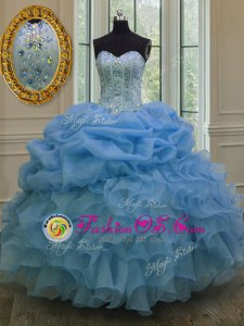 High End Yellow Green Quinceanera Dress Military Ball and Sweet 16 and Quinceanera and For with Beading and Ruffles Sweetheart Sleeveless Lace Up