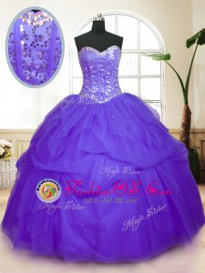 Multi-color Sleeveless Beading and Ruffles Floor Length 15 Quinceanera Dress