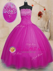 Fantastic Straps Sleeveless Quinceanera Dresses Floor Length Beading and Ruffles Light Yellow Organza