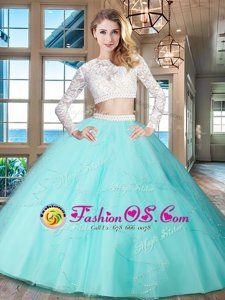 Shining Scoop Burgundy Sleeveless Tulle Brush Train Criss Cross Sweet 16 Dresses for Military Ball and Sweet 16 and Quinceanera