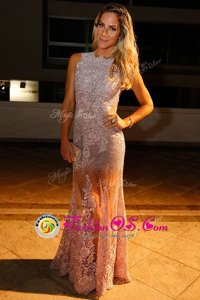 Mermaid Silver V-neck Neckline Sequins Prom Dress Sleeveless Backless