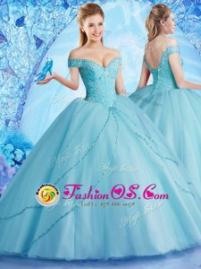 Luxury Sweetheart Sleeveless Quinceanera Dresses Floor Length Beading and Ruffles Orange Organza