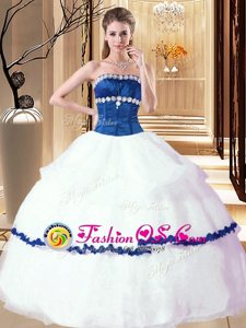 Cute Floor Length Ball Gowns Sleeveless Fuchsia Quinceanera Gowns Lace Up