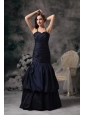 Elegnt Black Mermaid Halte Prom / Evening Dress Floor-length