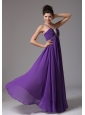 2013 Empire Spagetti Straps Prom Dress With Ruch and Beading In Illinois