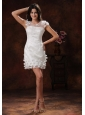 Appliques Decorate Short White Scoop Short Wedding Dress In 2013 Chandler Arizona