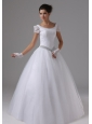 Scoop For 2013 Wedding Dress Short Sleeves Ball Gown Lace In Anaheim California