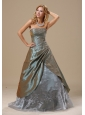 Olive Green Embroidery In Baton Rouge Louisiana For 2013 Dama Dresses for Quinceanera Custom Made