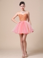 Sweetheart For Custom Made Prom Dress with Beaded Bodice Organza
