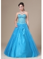 Beading Decorate Bodice A-line Sweetheart Neckline Floor-length 2013 Prom / Evening Dress