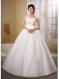 Brand New Sweetheart Beaded Decorate Bust and Bow Wedding Gowns In 2013