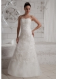 2013 Sweetheart Lace Wedding Dress For Custom Made