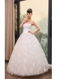 Lace With Beading Decorate Bodice Strapless A-line Floor-length 2013 Wedding Dress