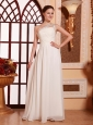 One Shoulder Empire Chiffon Beaded Decorate Shoulder Hottest 2013 Prom Gowns