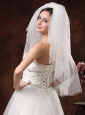 2012 Inspired 4-Layer White Bridal Veil On Sale
