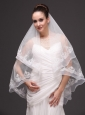 Fashion Best Wedding Veils With Appliques Hot Selling