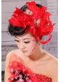 Hot Feather and Bow For Headpieces With Beading