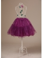 Hot Selling Fuchsia Mini-length Petticoat