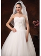 Cheap Drop Tulle Bridal Veils For Wedding