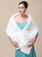 Faux Fur Special Occasion / Wedding Shawl On Sale