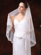Perfect Applique Edge Organza Wedding Veil