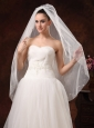 Tulle Discount Bridal Veils For Wedding