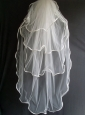 Four Layers Tulle Wedding Veils