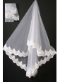 Graceful Lace Organza Bridal Veils