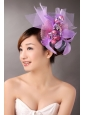 Lavender Feathers Hand Made Flowers Fascinators On Sale