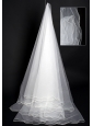 Multilayer Organza Modest Bridal / Wedding Veils