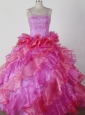 Brand New Ball Gown Little Girl Pageant Dress Beading and Ruffles Spaghetti Straps Floor-length