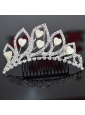 Fabulous Alloy With Rhinestone Tiara