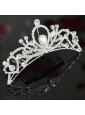 The Most Popular Tiara With Rhinestone And Imitation Pearl