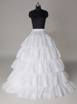 Hot Selling Taffeta Five Layers Floor-length Wedding Petticoat