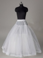 Lace Edge Ball Gown Organza Floor-length Wedding Petticoat
