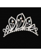 Beautiful Tiara With Shining Rhinestones