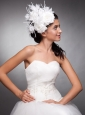 Beautiful Taffeta Hand Made Flowers Headpieces
