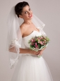 Gorgeous Hand-tied Round Shape Wedding Bridal Bouquet